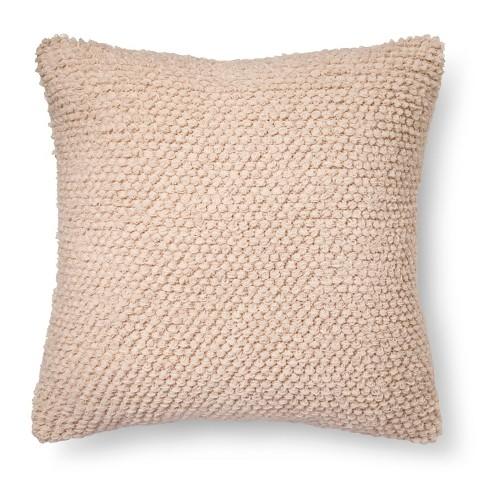 Target White Decorative Pillow : Loop De Loop Knit Decorative Pillow White - Xhil... : Target