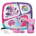 Zak! My Little Pony TV Dinnerware Set of 4