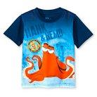 Toddler Boys' Finding Dory Short Sleeve T-Shirt - Blue 2T