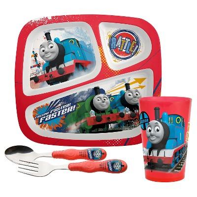 Zak! Thomas The Tank And Friends Dinnerware Set of 4