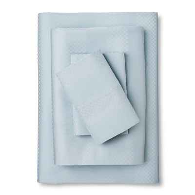 Sheet Set Pearl Blue 600 QUEEN Elite Home Products