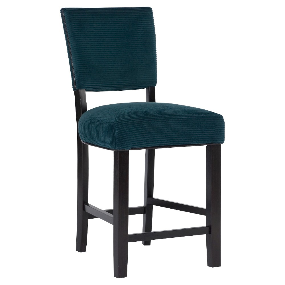 Raya 30 Barstool - Blue (Set of 2) - Bombay
