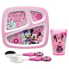 Zak! Minnie Bowtique Dinnerware Set of 4