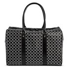 Bueno of California Women's Print Weekender Handbag - Black/White