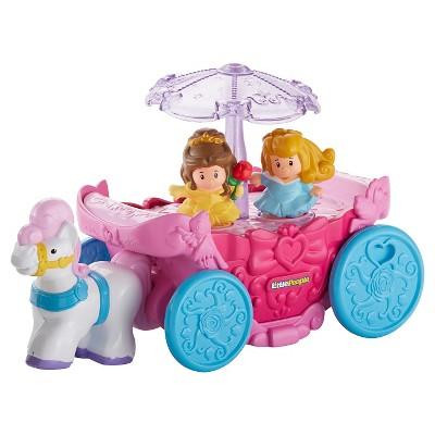 Fisher-Price Little People Disney Princess Carousel Carriage