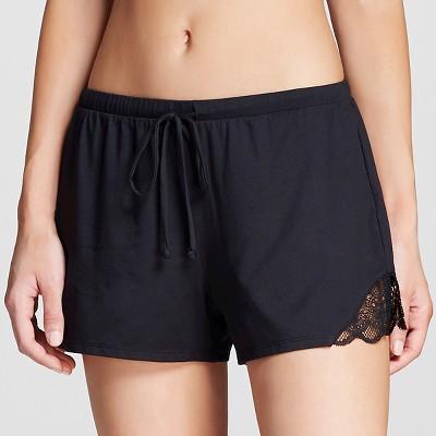 Women's Pajamas Solid Shorts Black M - Gilligan & O'Malley®