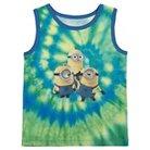 Toddler Boys' Despicable Me™ Minions Tank Top - Tie Dye 2T