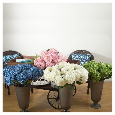 "Pink Hydrangea - 33"" Long - Set of 4 pcs"