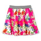 Say What? Girls' Floral Pattern Circle Skirt Pink L (10-12)
