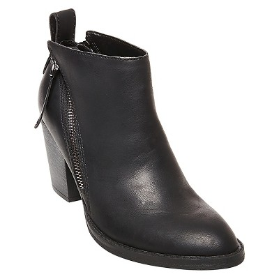 Women's dv Jameson Double Side Zip Booties - Black 7
