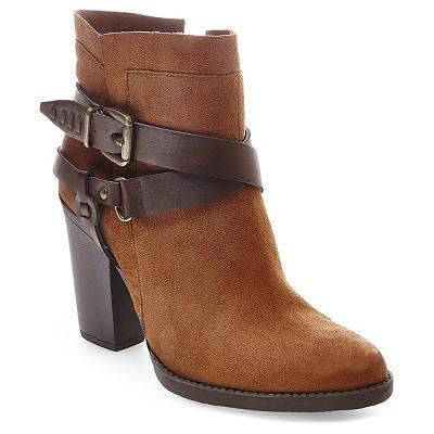 Women's Francesca Western Boots - Cognac 9.5 - Mossimo Supply Co.™