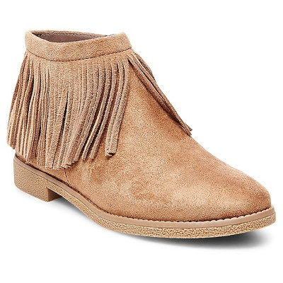 Women's Tatyana Moccasin Boots - Taupe 7.5 - Mossimo Supply Co.™