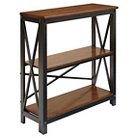 Shayneville Medium Bookcase - Rustic Brown - Signature Design by Ashley