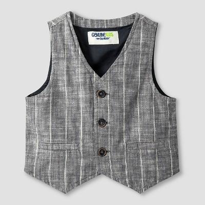 Baby Boys' Fashion Vest - Charcoal 12M - Genuine Kids™ from Oshkosh®
