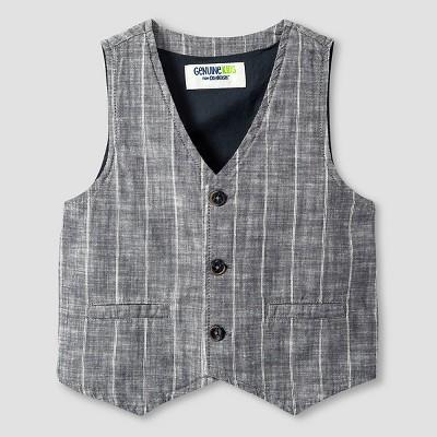 Toddler Boys' Fashion Vest - Charcoal 2T - Genuine Kids™ from Oshkosh®