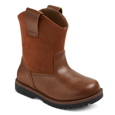 Toddler Boys' Chris Cowboy Boots Cat & Jack™ - Brown 5