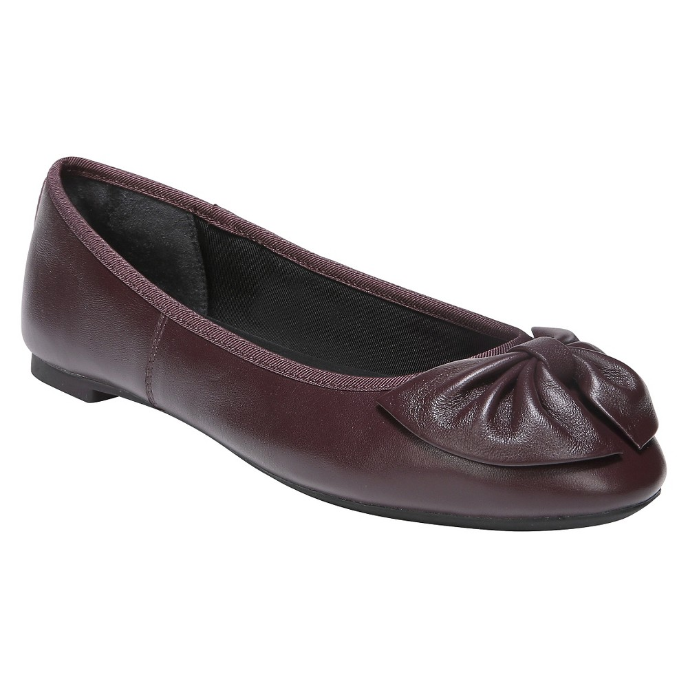 0fb104e07649 490960208125. Women s Sam   Libby Chelsea Leather Bow Ballet Flats ...