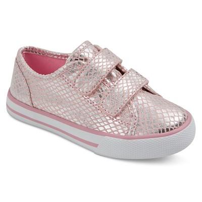 Toddler Girls' Tatum Metallic Double Strap Velcro Sneakers Cat & Jack™ - Pink 5