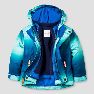 Baby Boys' Ombre 3-in-1 Jacket Baby Cat & Jack™ - Blue