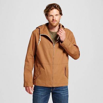 Men's Anorak Jacket Tan L - Merona™