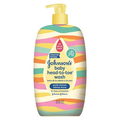 Johnson's Head-to-Toe® Baby Wash - 28oz Designer Sleeve