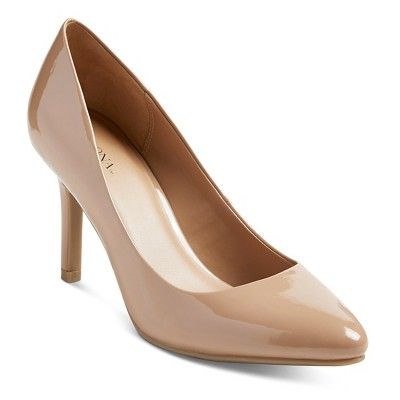 Women's Alexis Pointed Toe Pumps - Pale Blush 6 - Merona™