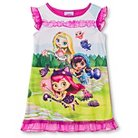 Toddler Girls' Little Charmers Short Sleeve Nightgown Pink 4T