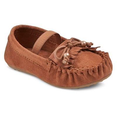 Toddler Girls' Olga Moccasins Cat & Jack™ - Tan 6