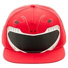 Boys' Power Rangers Baseball Snap Back Hat Red One Size