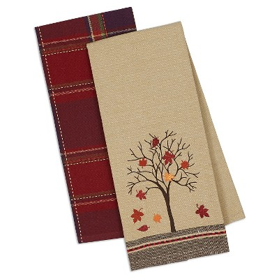Fall Tree Dishtowels - Set of 2