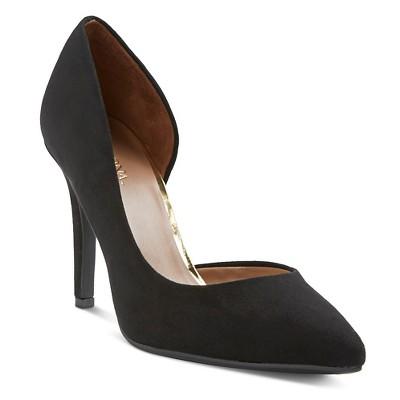 Women's Lainee d'Orsay Pumps - Black 6 - Merona™