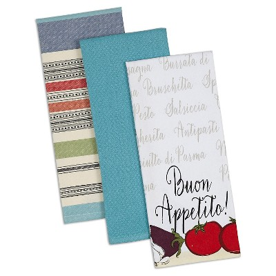 Buon Appetito Dishtowels - Set of 3