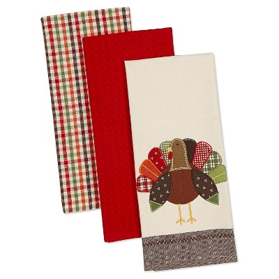 Turkey Dishtowels - Set of 3