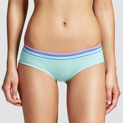 Women's Seamless Hipster Brief Mint Green XS - Xhilaration™