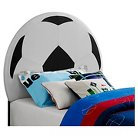 Soccer Ball Upholstered Headboard (Twin) - Powell Company