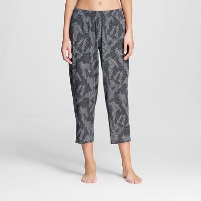 Women's Pajamas Printed Crop Black XL - Gilligan & O'Malley®