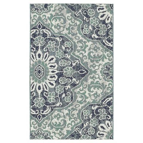 Blue Batik Outdoor Rug Threshold™ Tar