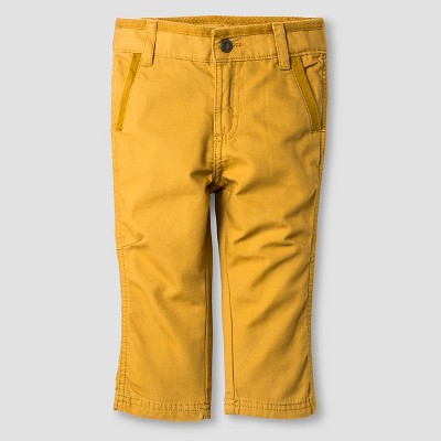 Baby Boys' Chino Pant - Coronet Gold 18M - Genuine Kids™ from Oshkosh®