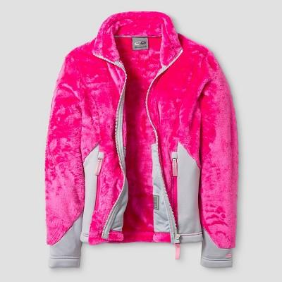 Girls' C9 Champion® Fleece Jacket S - Pink