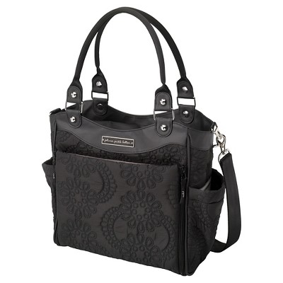 Petunia City Carryall - Black Embossed Central Park Noth