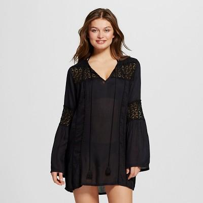 Women's Boho Me Dress - Black  - S - Mango Reef