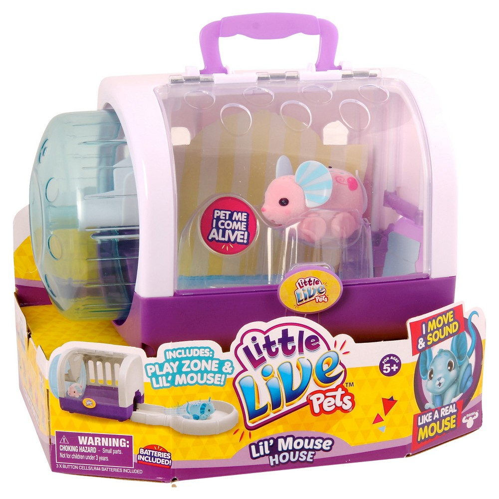 Little Live Pets Lil' Mouse House - Cuppi-Swirl
