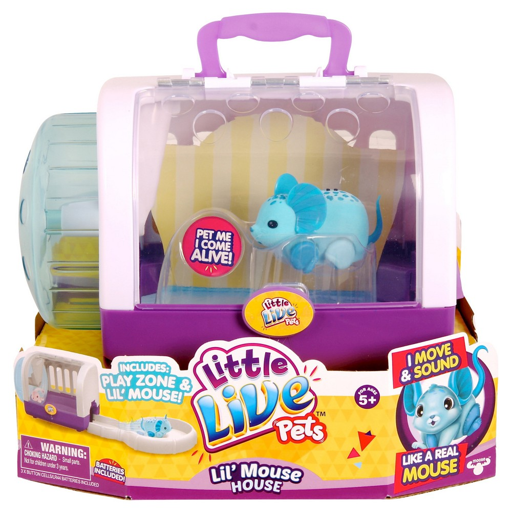 Little Live Pets Lil' Mouse House - Jungle Wonder