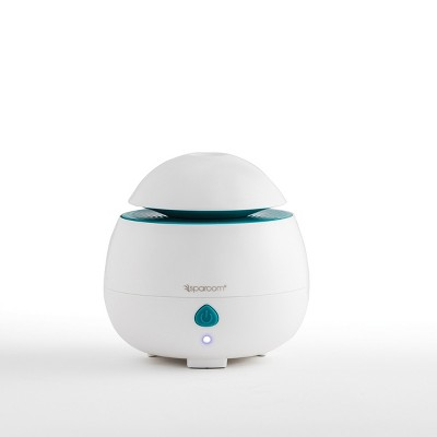 SpaRoom AromaPod USB Diffuser -White (includes free essential oil and Klenzor Diffuser Cleansing Capsules)