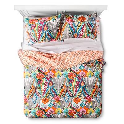 Sparrow  Quilt And Sham Set Full/Queen Multicolored - Mudhut™