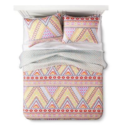 Bright Adventure Quilt And Sham Set King Multicolored - Mudhut™