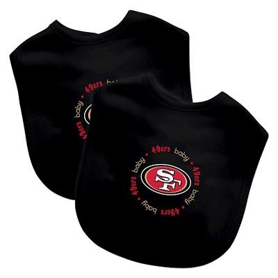 Baby Fanatic San Francisco 49ers Bib Set (2-pk)