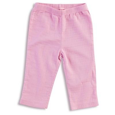 Aden + Anais® Baby Girls' Solid Kimono Pant - Pink 0-3M