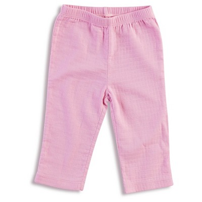 Aden + Anais® Baby Girls' Solid Kimono Pant - Pink 3-6M