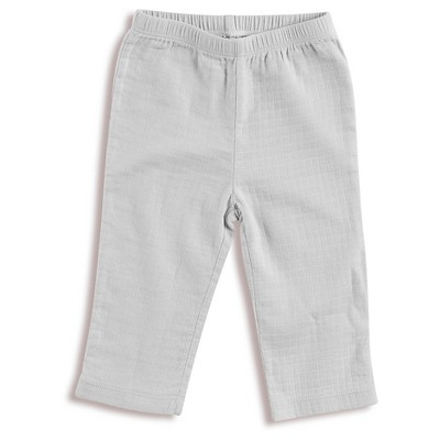 Aden + Anais® Baby Solid Kimono Pant Grey 3-6M